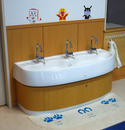 エンゼルキッズのお手洗い